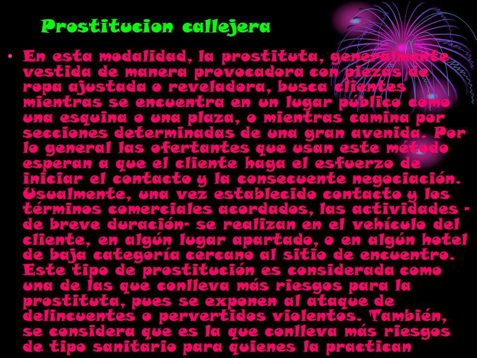 Prostitucion callejera