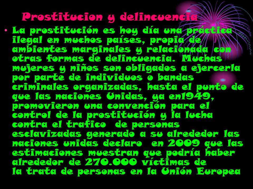 Prostitucion y delincuencia