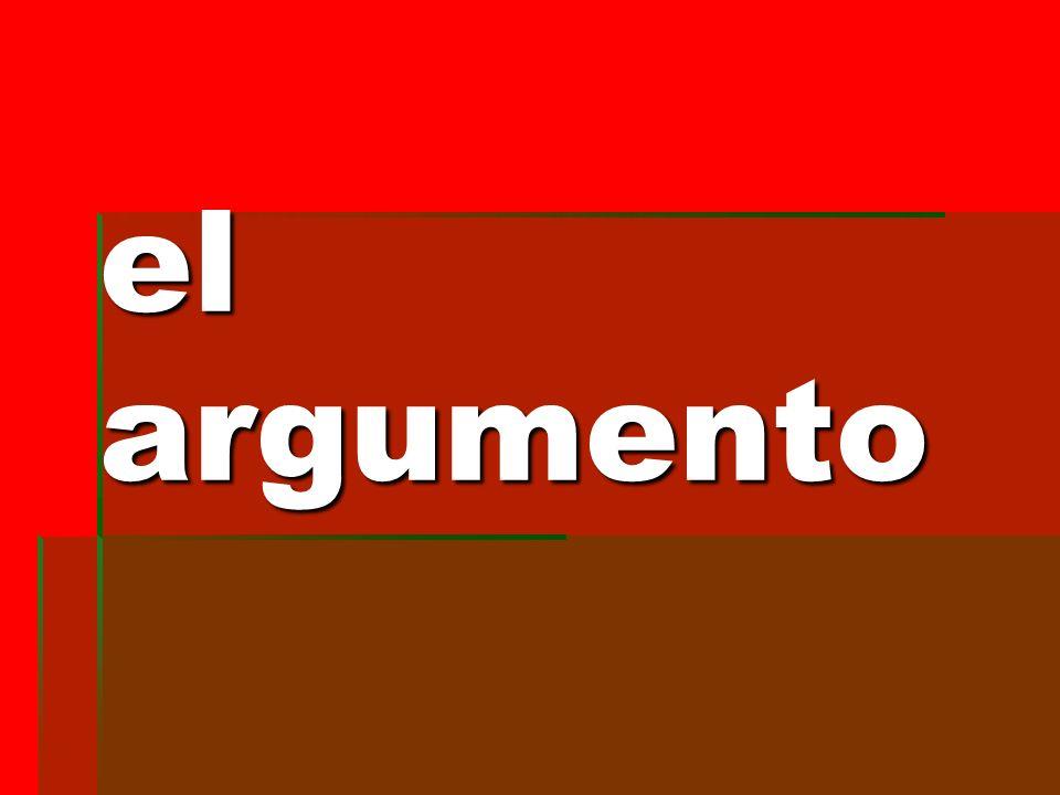 el argumento