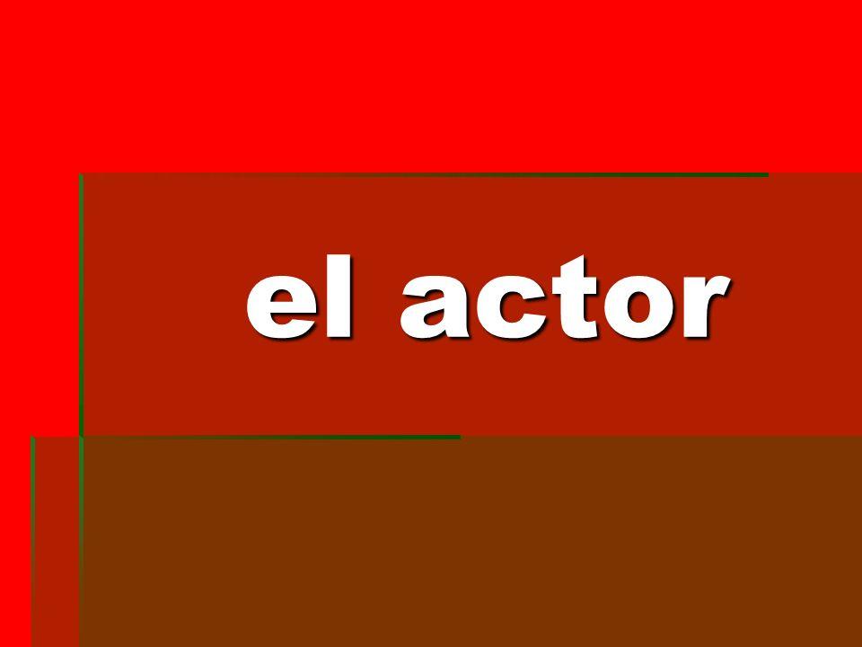 el actor