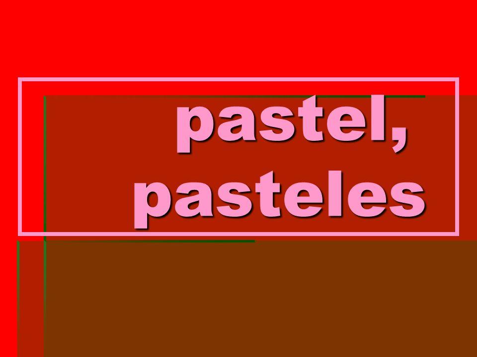 pastel, pasteles