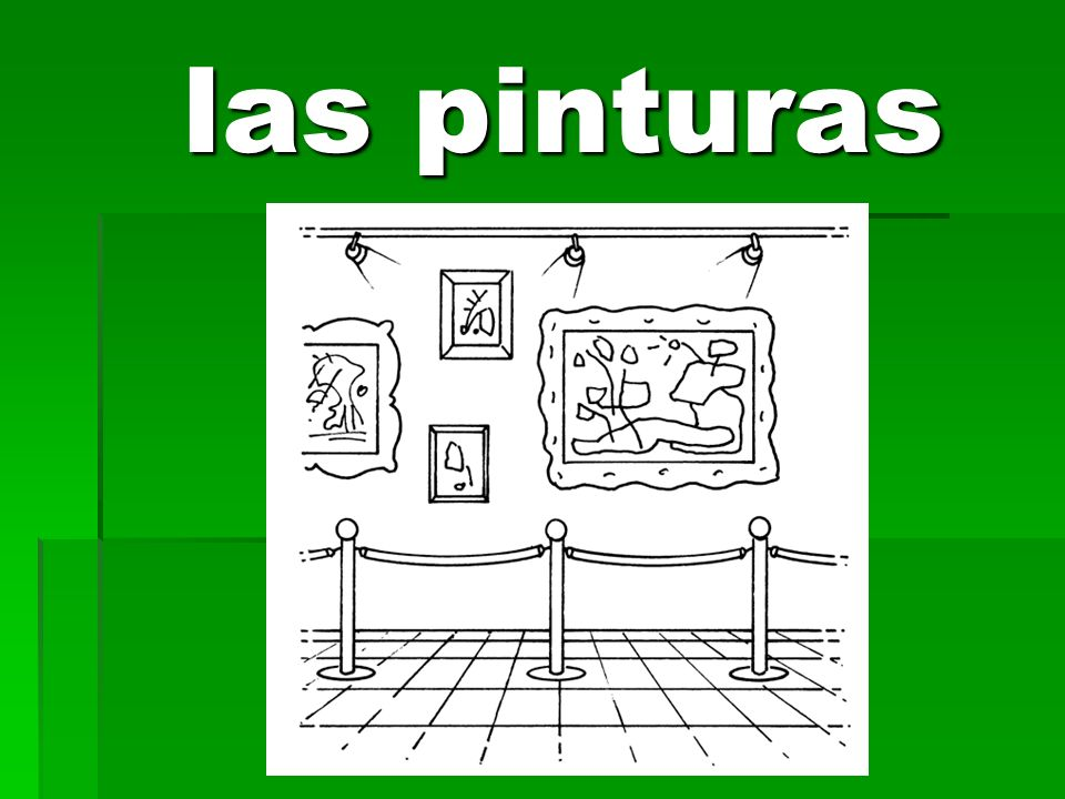 las pinturas