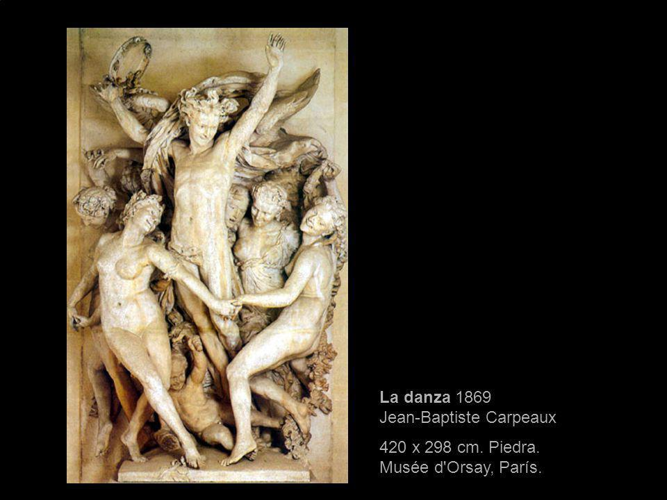 La danza 1869 Jean-Baptiste Carpeaux