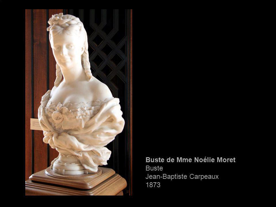 Buste de Mme Noélie Moret Buste Jean-Baptiste Carpeaux 1873