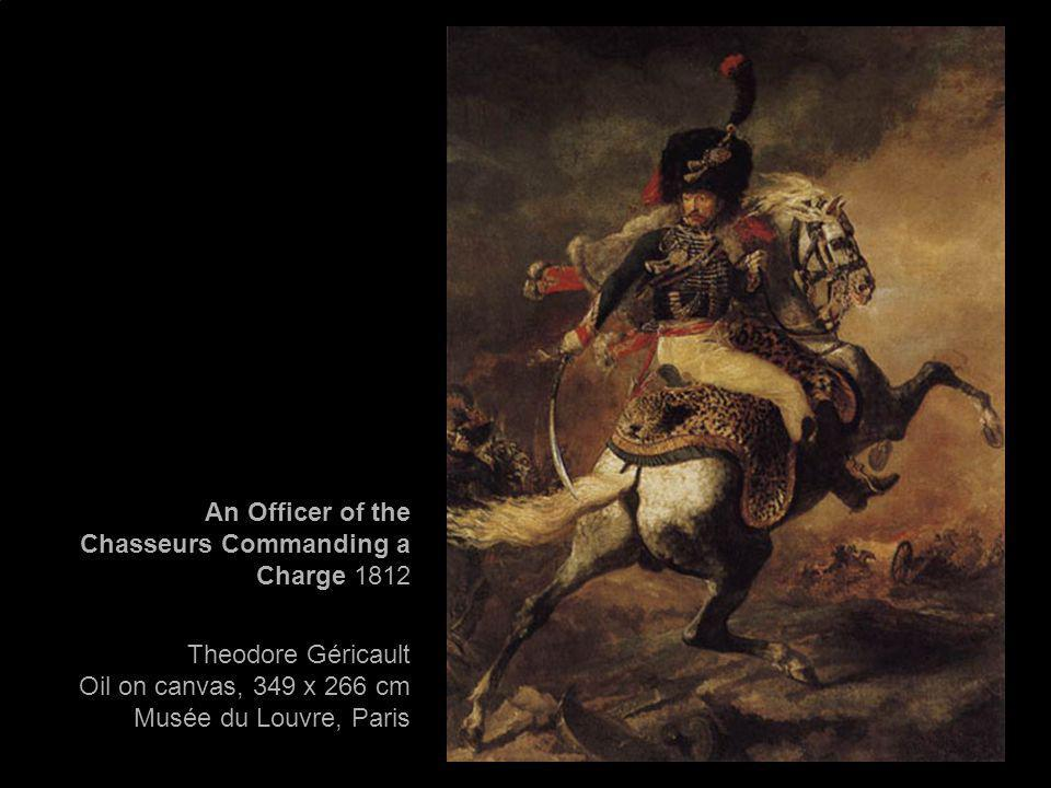 An Officer of the Chasseurs Commanding a Charge 1812
