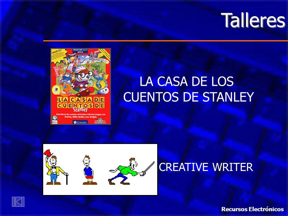 Talleres LA CASA DE LOS CUENTOS DE STANLEY CREATIVE WRITER