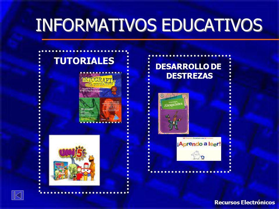 INFORMATIVOS EDUCATIVOS
