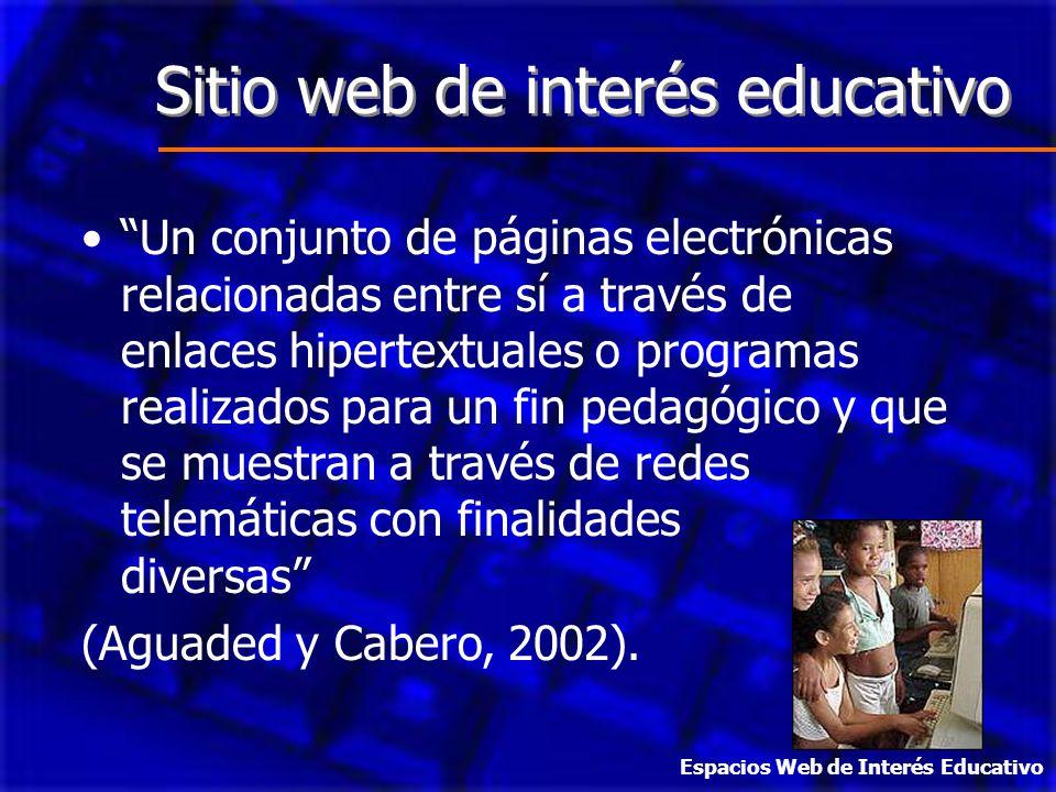 Sitio web de interés educativo