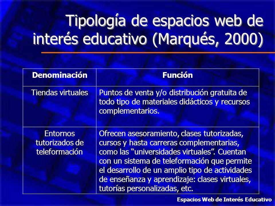 Entornos tutorizados de teleformación
