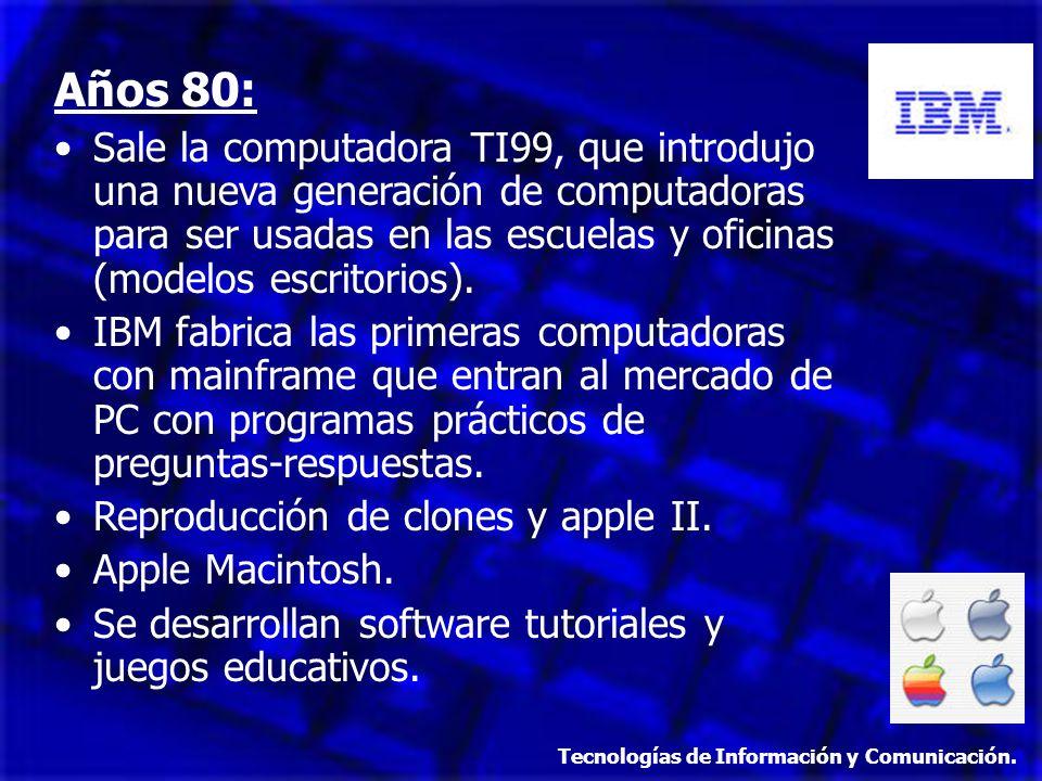 Años 80: