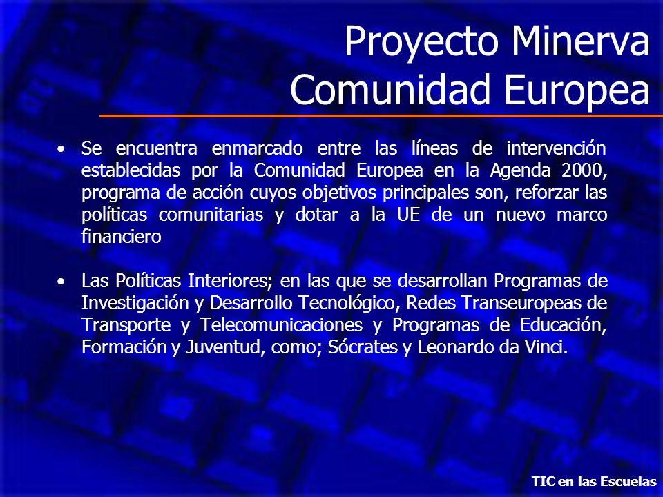 Proyecto Minerva Comunidad Europea