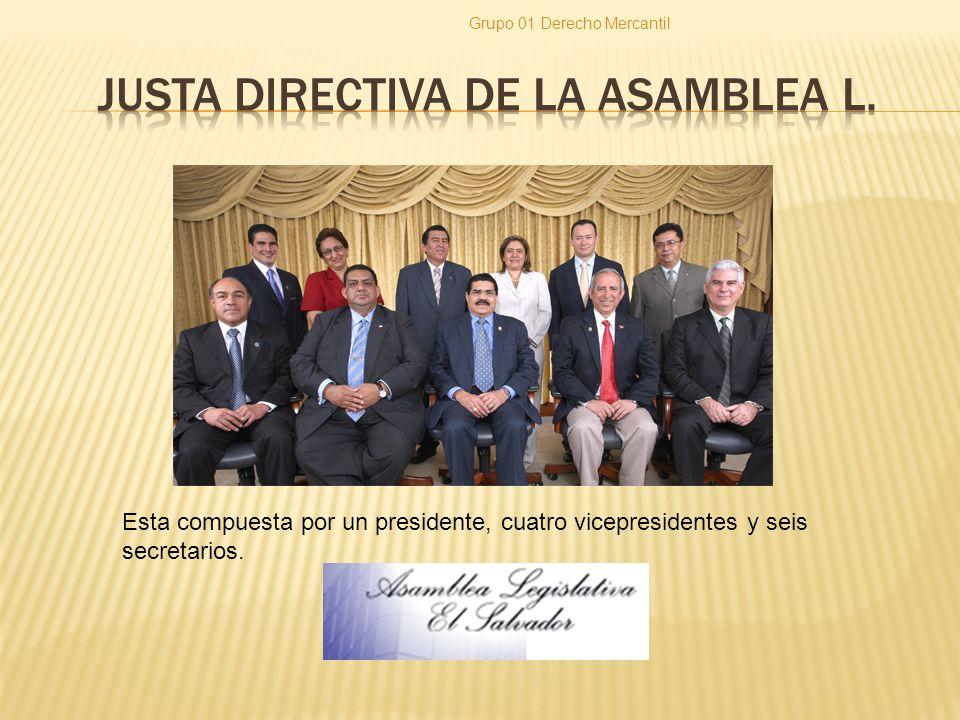 Justa directiva de la asamblea l.
