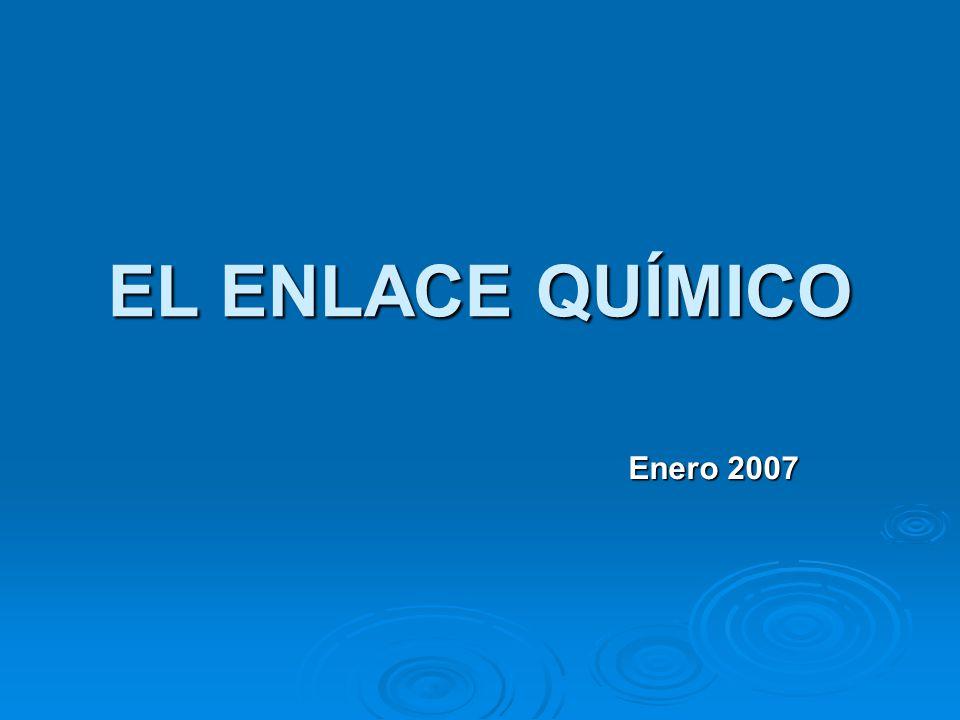 EL ENLACE QUÍMICO Enero 2007