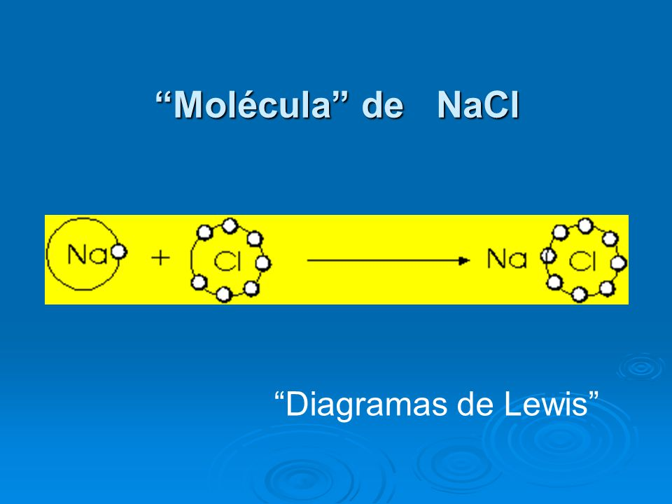Molécula de NaCl