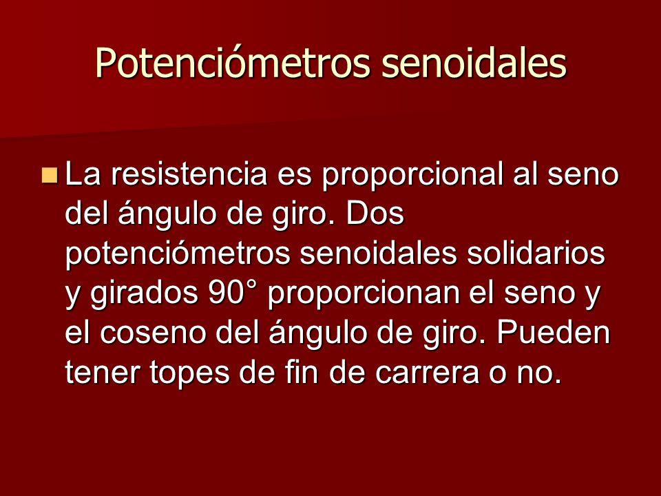 Potenciómetros senoidales