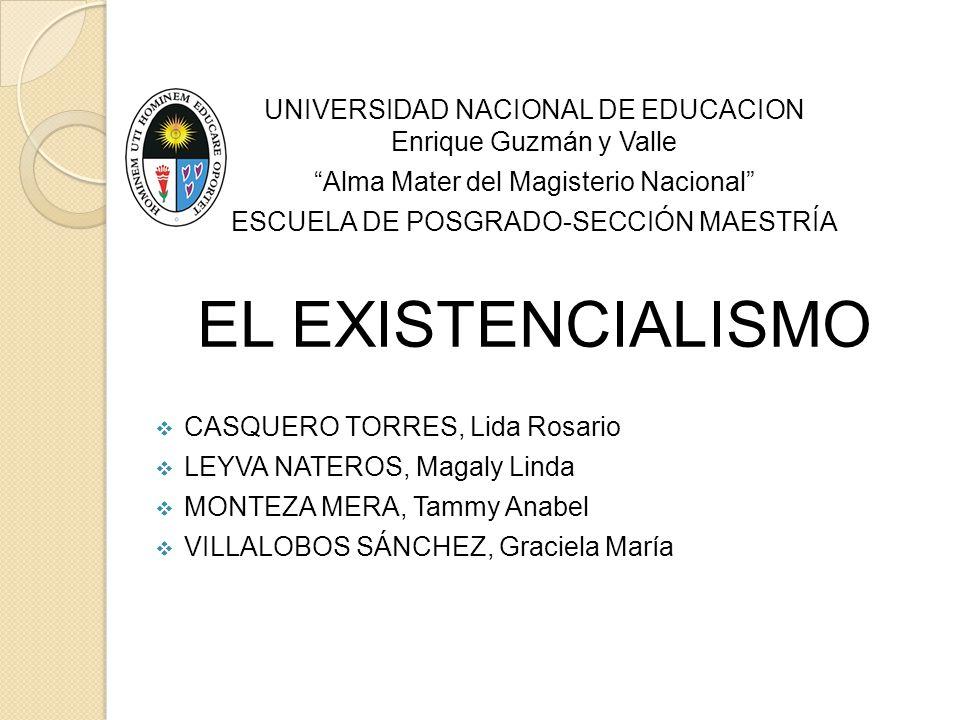 UNIVERSIDAD NACIONAL DE EDUCACION Enrique Guzmán y Valle