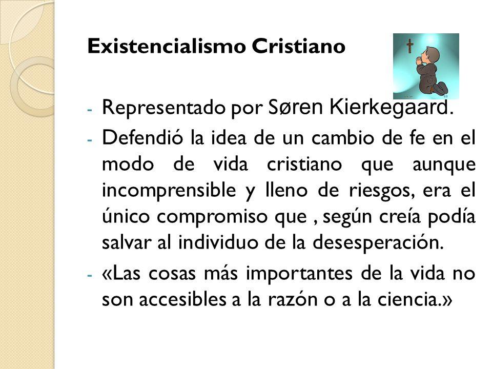 Existencialismo Cristiano