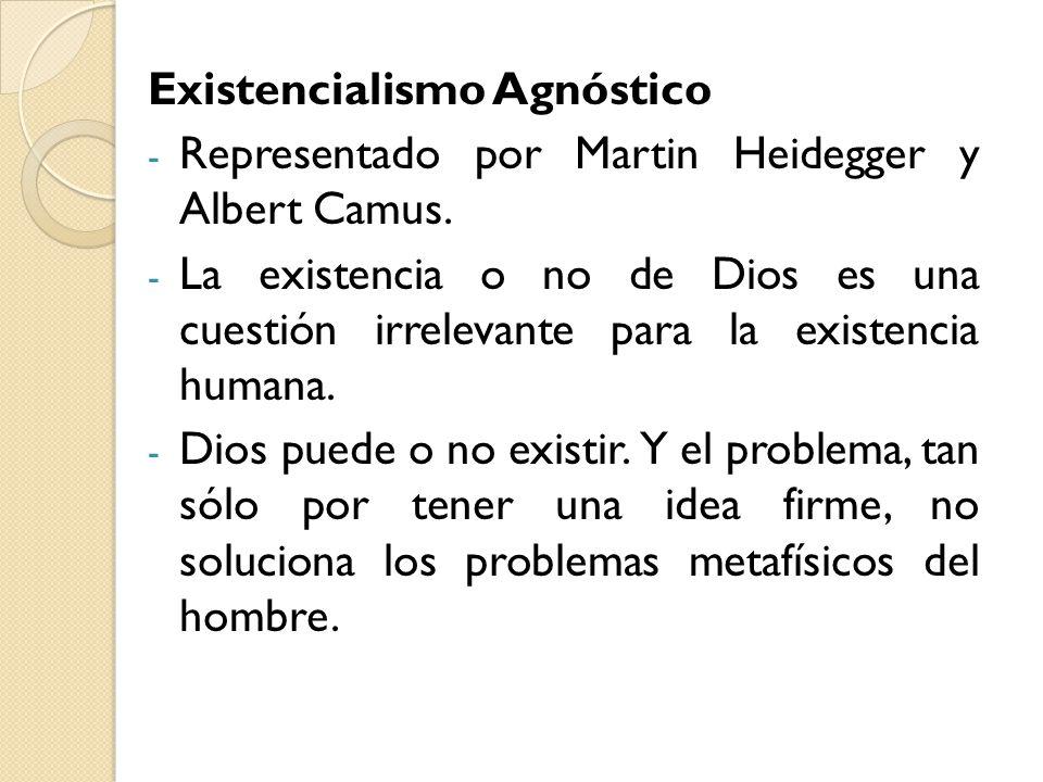 Existencialismo Agnóstico