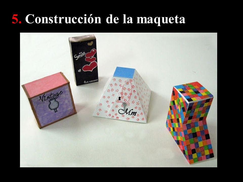 5. Construcción de la maqueta