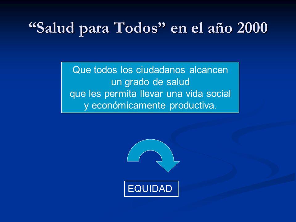 Salud para Todos en el año 2000