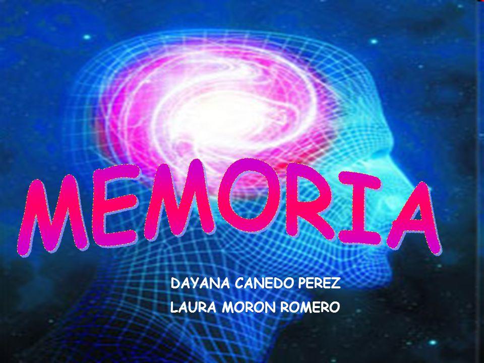 MEMORIA DAYANA CANEDO PEREZ LAURA MORON ROMERO DAYANA CANEDO PEREZ