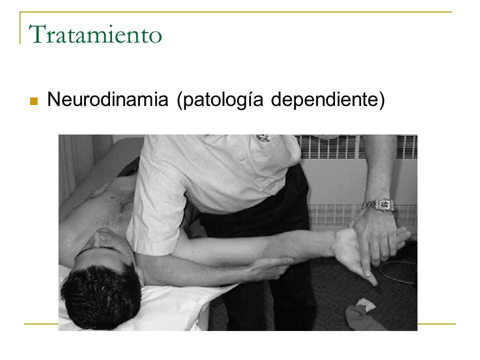 Tratamiento Neurodinamia (patología dependiente)