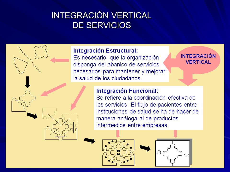 INTEGRACIÓN VERTICAL DE SERVICIOS