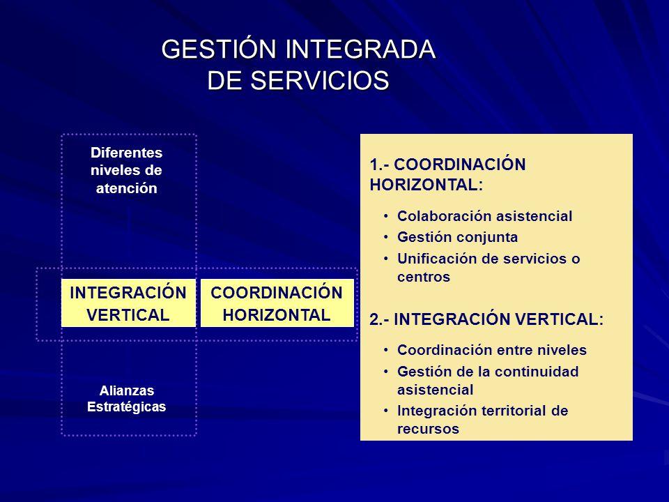 GESTIÓN INTEGRADA DE SERVICIOS