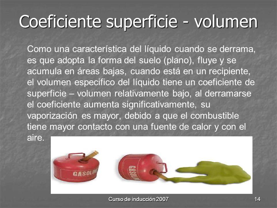 Coeficiente superficie - volumen