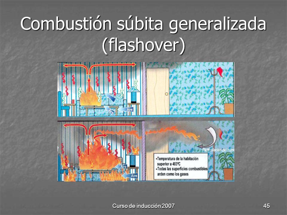 Combustión súbita generalizada (flashover)
