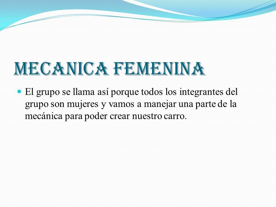 MECANICA FEMENINA
