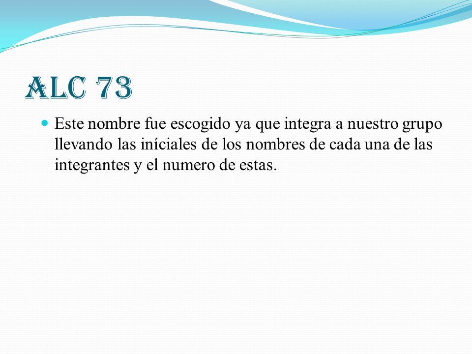 ALC 73