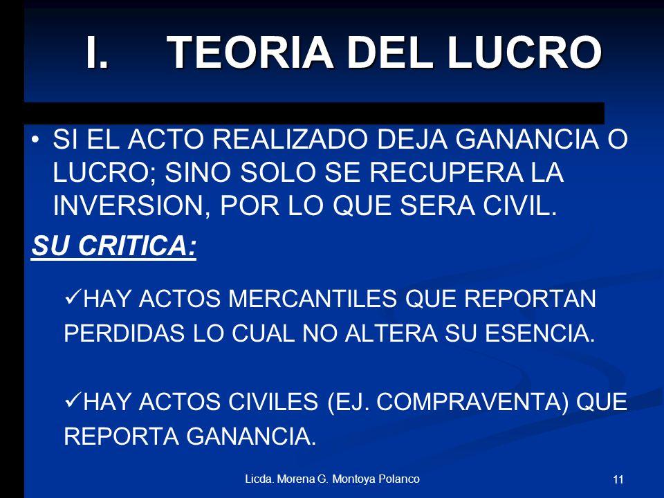 Licda. Morena G. Montoya Polanco