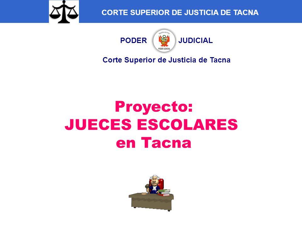 PODER JUDICIAL Corte Superior de Justicia de Tacna