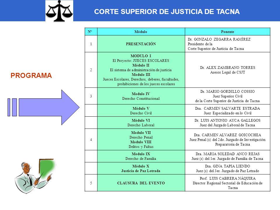 Justicia de Paz Letrada