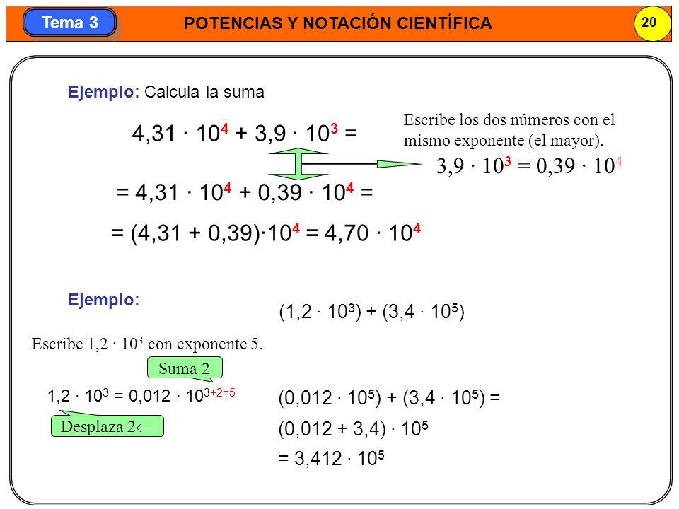 Ejemplo: Calcula la suma
