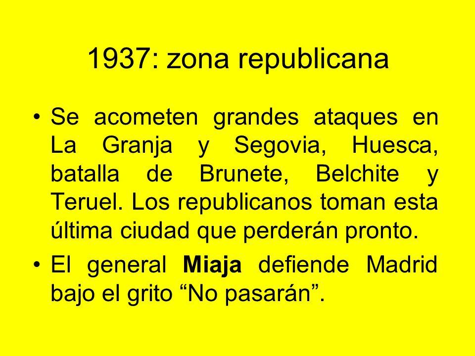 1937: zona republicana