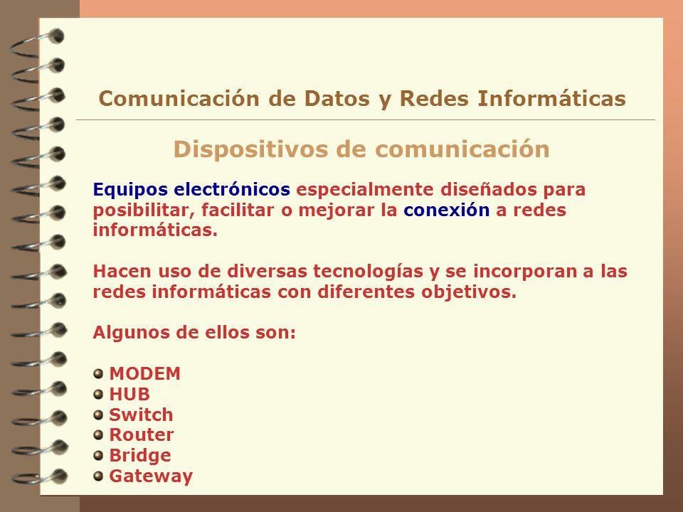 Dispositivos de comunicación