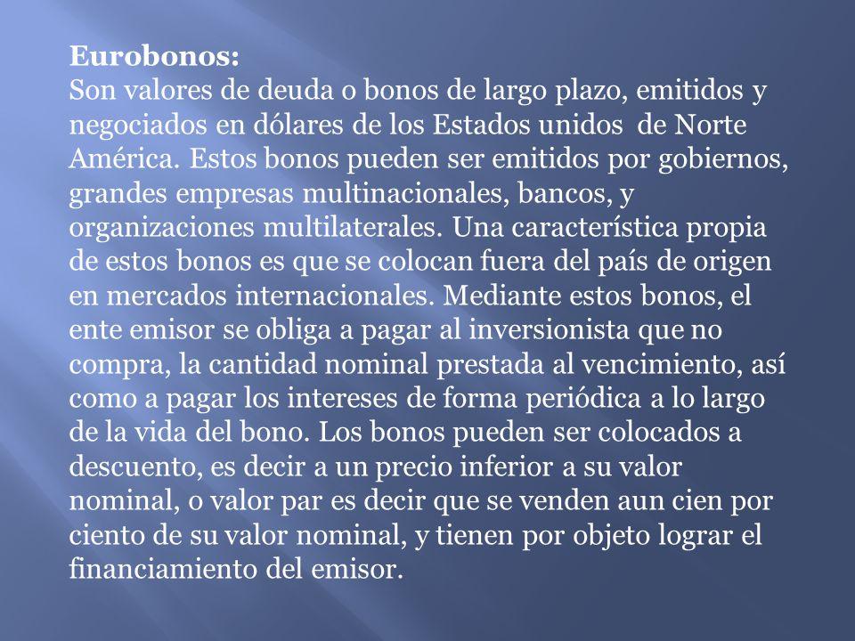 Eurobonos: