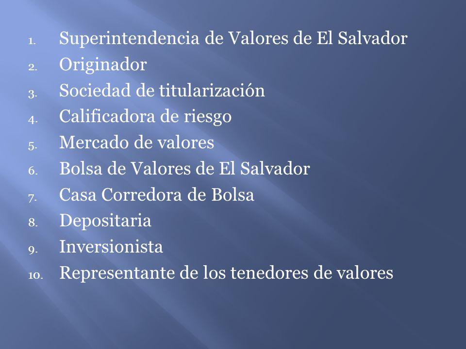 Superintendencia de Valores de El Salvador