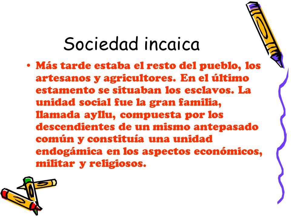 Sociedad incaica