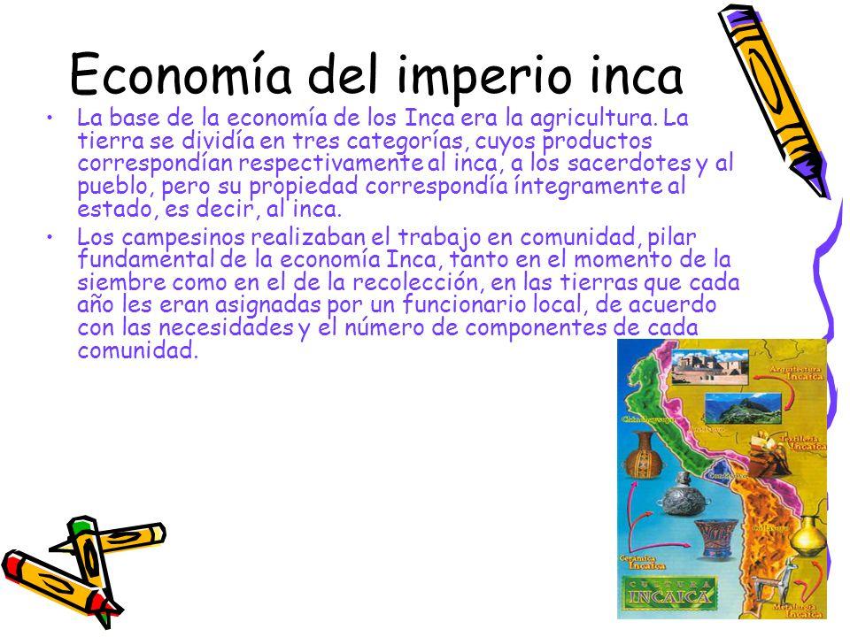 Economía del imperio inca