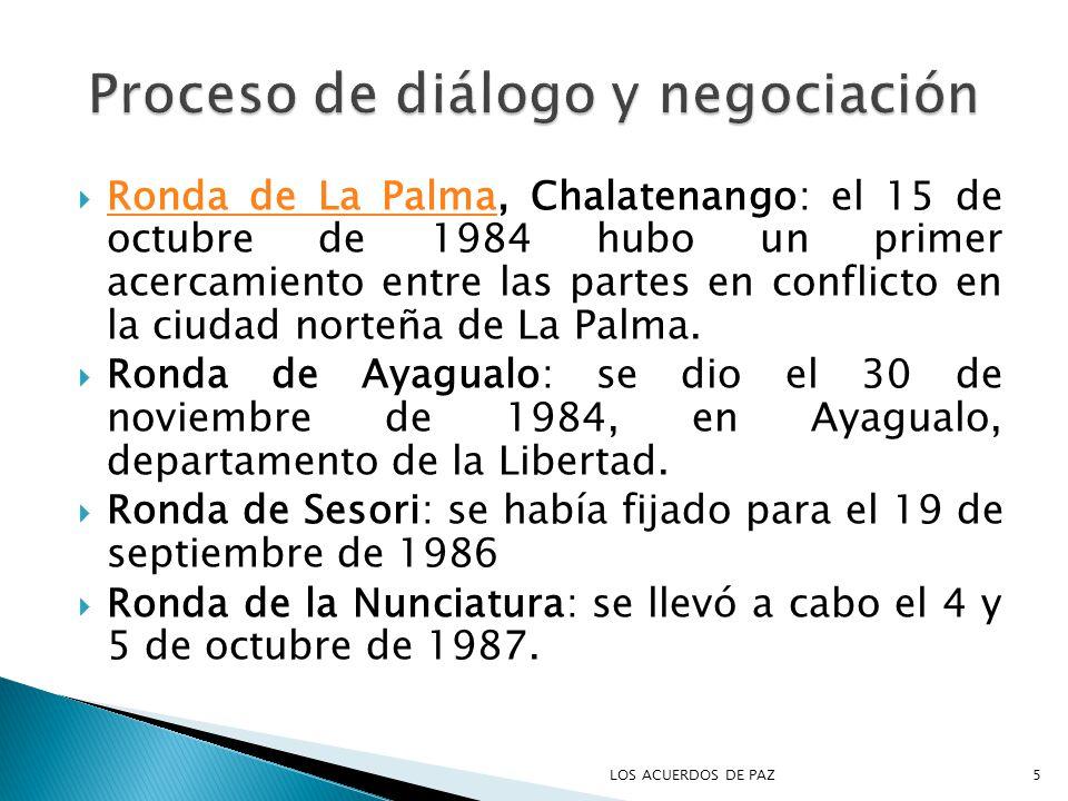 Proceso de diálogo y negociación