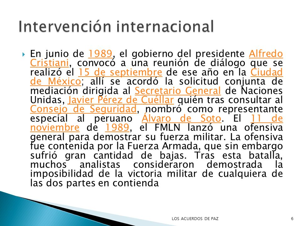 Intervención internacional
