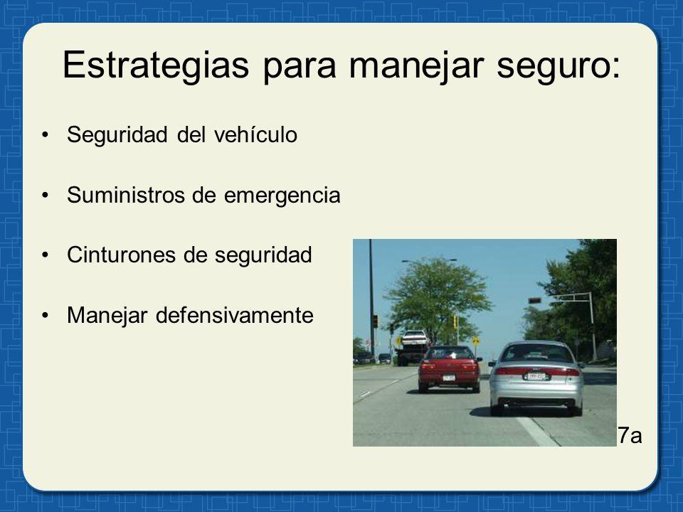 Estrategias para manejar seguro: