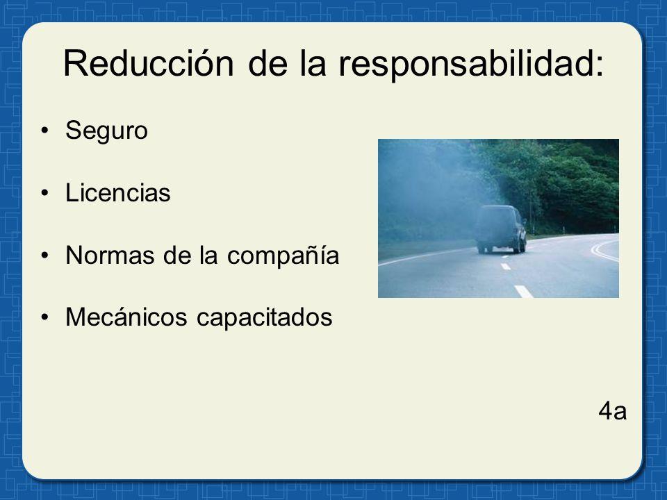 Reducción de la responsabilidad: