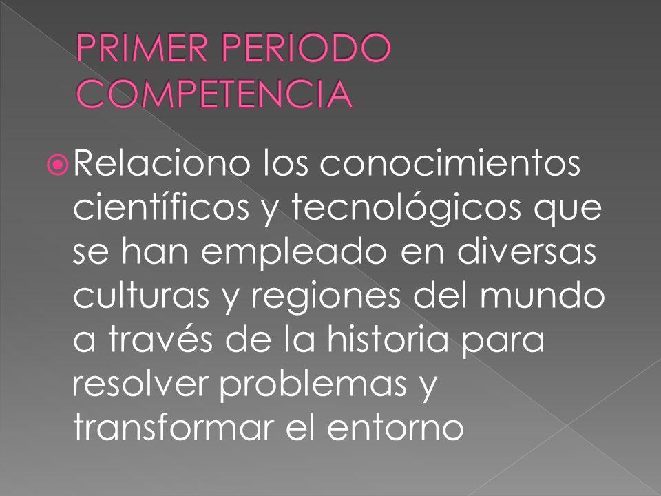 PRIMER PERIODO COMPETENCIA