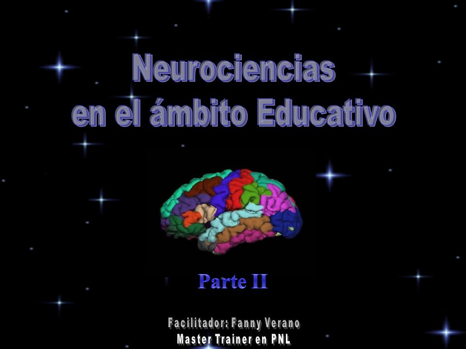 Neurociencias en el ámbito Educativo Parte II