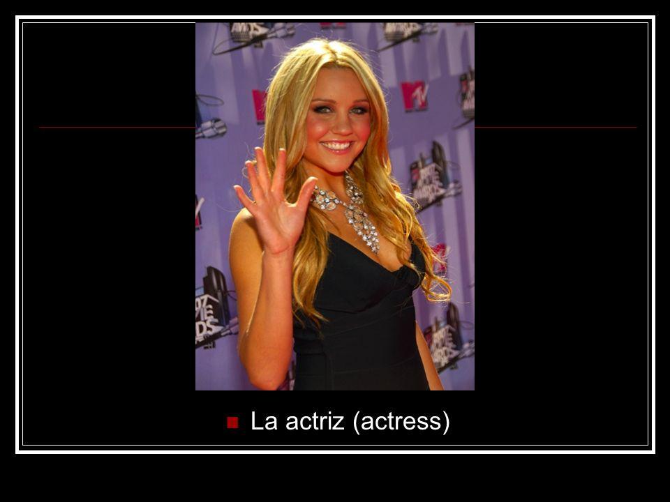 La actriz (actress)