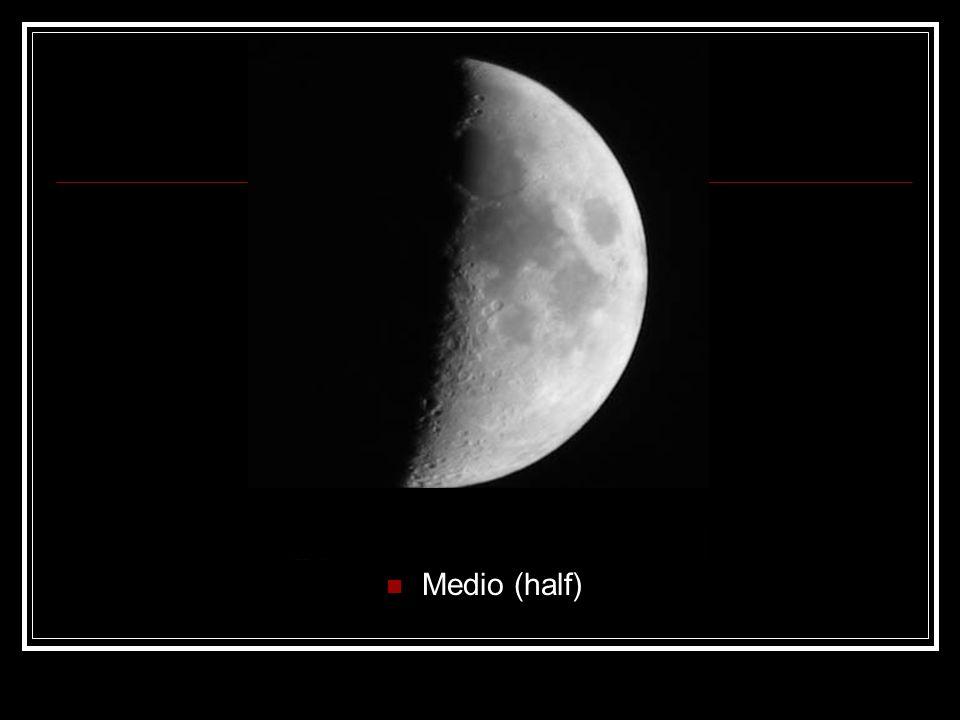 Medio (half)